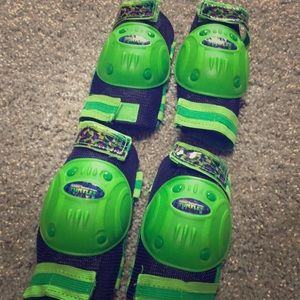 Ninja turtle knee and elbow protection